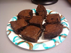 Gluten Free Fudgy Brownies for Celiacs